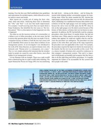 Maritime Logistics Professional Magazine, page 42,  Q3 2016