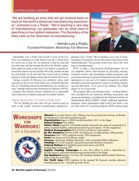 Maritime Logistics Professional Magazine, page 46,  Q3 2016