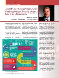 Maritime Logistics Professional Magazine, page 48,  Q3 2016