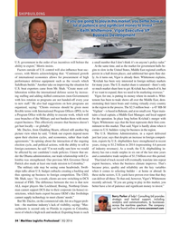 Maritime Logistics Professional Magazine, page 54,  Q3 2016