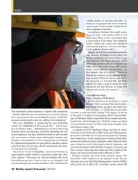 Maritime Logistics Professional Magazine, page 56,  Q3 2016