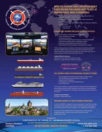 Maritime Logistics Professional Magazine, page 5,  Q3 2016