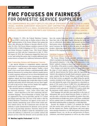 Maritime Logistics Professional Magazine, page 10,  Q4 2016