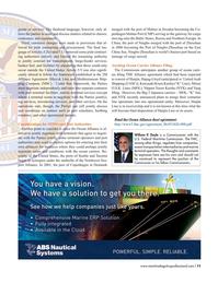 Maritime Logistics Professional Magazine, page 11,  Q4 2016