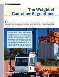 Maritime Logistics Professional Magazine, page 12,  Q4 2016