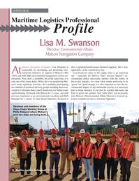 Maritime Logistics Professional Magazine, page 16,  Q4 2016