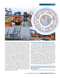 Maritime Logistics Professional Magazine, page 21,  Q4 2016