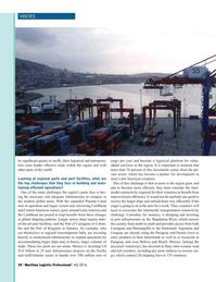 Maritime Logistics Professional Magazine, page 24,  Q4 2016