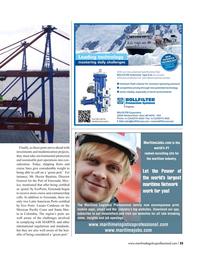 Maritime Logistics Professional Magazine, page 25,  Q4 2016