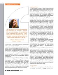 Maritime Logistics Professional Magazine, page 28,  Q4 2016