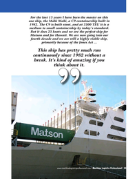 Maritime Logistics Professional Magazine, page 33,  Q4 2016