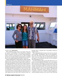 Maritime Logistics Professional Magazine, page 34,  Q4 2016