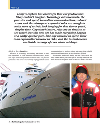 Maritime Logistics Professional Magazine, page 36,  Q4 2016