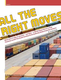 Maritime Logistics Professional Magazine, page 38,  Q4 2016