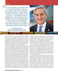 Maritime Logistics Professional Magazine, page 40,  Q4 2016