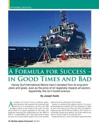 Maritime Logistics Professional Magazine, page 44,  Q4 2016