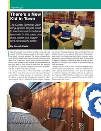 Maritime Logistics Professional Magazine, page 58,  Q4 2016