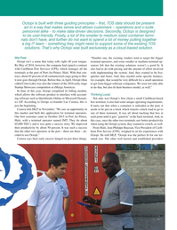Maritime Logistics Professional Magazine, page 59,  Q4 2016