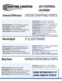 Maritime Logistics Professional Magazine, page 62,  Q4 2016