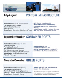 Maritime Logistics Professional Magazine, page 63,  Q4 2016
