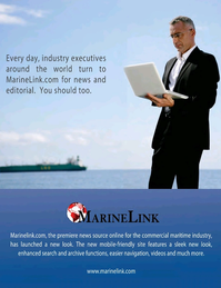Maritime Logistics Professional Magazine, page 3rd Cover,  Q4 2016