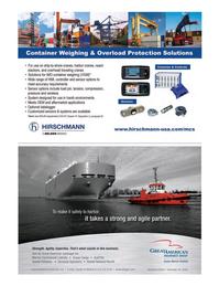 Maritime Logistics Professional Magazine, page 7,  Q4 2016