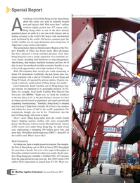 Maritime Logistics Professional Magazine, page 20,  Jan/Feb 2017