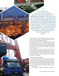 Maritime Logistics Professional Magazine, page 21,  Jan/Feb 2017