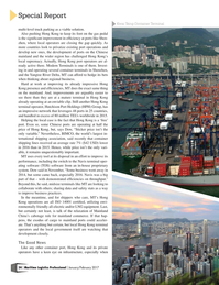 Maritime Logistics Professional Magazine, page 24,  Jan/Feb 2017