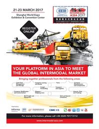 Maritime Logistics Professional Magazine, page 1,  Jan/Feb 2017