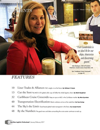 Maritime Logistics Professional Magazine, page 2,  Jan/Feb 2017