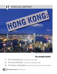 Maritime Logistics Professional Magazine, page 6,  Jan/Feb 2017