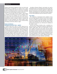 Maritime Logistics Professional Magazine, page 14,  Mar/Apr 2017