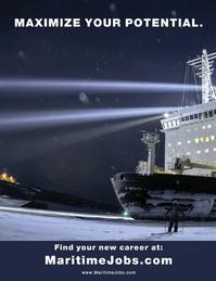 Maritime Logistics Professional Magazine, page 2nd Cover,  Mar/Apr 2017