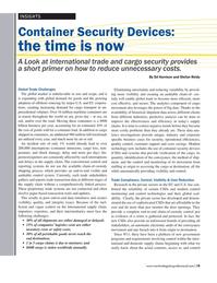Maritime Logistics Professional Magazine, page 19,  Mar/Apr 2017