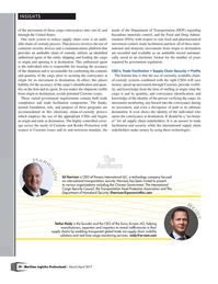 Maritime Logistics Professional Magazine, page 20,  Mar/Apr 2017