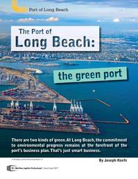 Maritime Logistics Professional Magazine, page 22,  Mar/Apr 2017