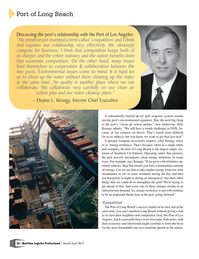 Maritime Logistics Professional Magazine, page 26,  Mar/Apr 2017