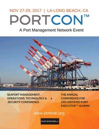 Maritime Logistics Professional Magazine, page 1,  Mar/Apr 2017