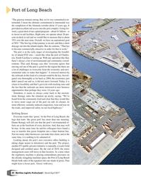 Maritime Logistics Professional Magazine, page 28,  Mar/Apr 2017