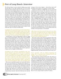 Maritime Logistics Professional Magazine, page 34,  Mar/Apr 2017