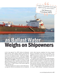 Maritime Logistics Professional Magazine, page 47,  Mar/Apr 2017