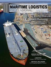 Maritime Logistics Professional Magazine Cover May/Jun 2017 - BUNKER OPERATIONS & PORTS
