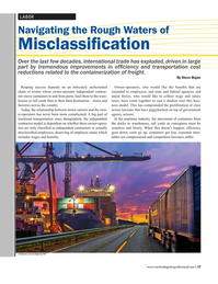Maritime Logistics Professional Magazine, page 17,  May/Jun 2017