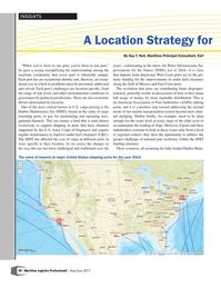 Maritime Logistics Professional Magazine, page 20,  May/Jun 2017