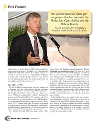 Maritime Logistics Professional Magazine, page 28,  May/Jun 2017