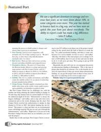 Maritime Logistics Professional Magazine, page 34,  May/Jun 2017