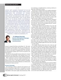 Maritime Logistics Professional Magazine, page 18,  Jul/Aug 2017
