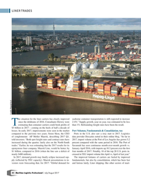 Maritime Logistics Professional Magazine, page 32,  Jul/Aug 2017