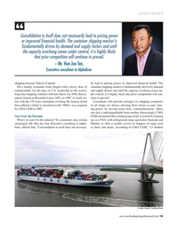 Maritime Logistics Professional Magazine, page 35,  Jul/Aug 2017